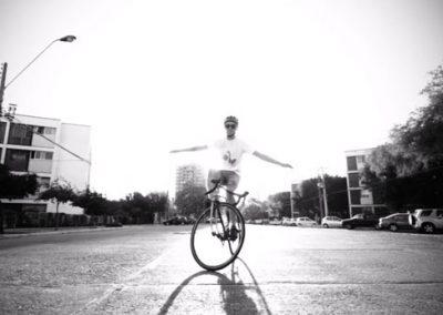 Trackstand en la ciudad